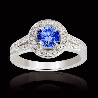 Sarah Blue Sapphire Ring