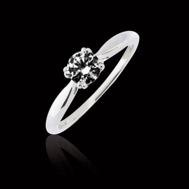 Laureen solo Black Diamond Ring