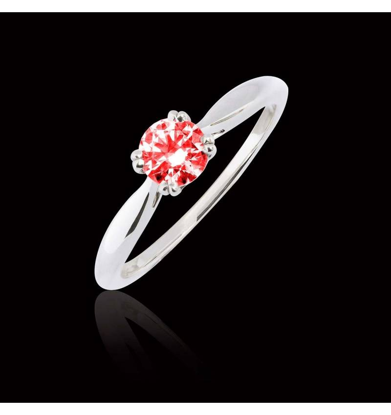 Laureen solo ruby Ring