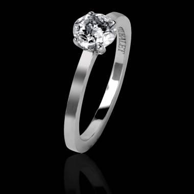 Diamond engagement ring white gold Ring