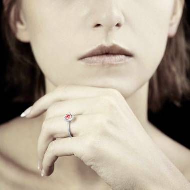 Bague rubis Isaure Solo