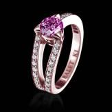 Bague Tourmaline rose Plena Luna