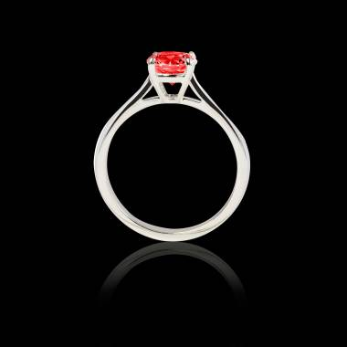 Bague Spinelle rouge Angela solo