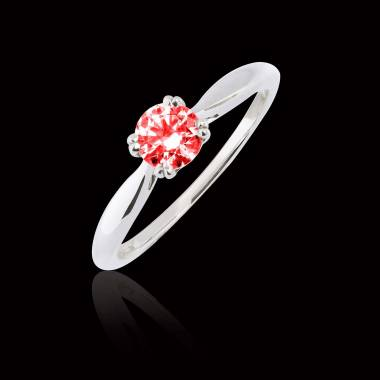 Bague Spinelle rouge Laureen solo