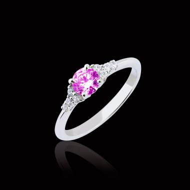 Bague Tourmaline rose Virginie