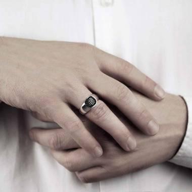 Massimiliano Men's Signet Ring