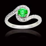 Lilou Emerald Ring