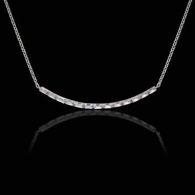 Collier diamant Ligne