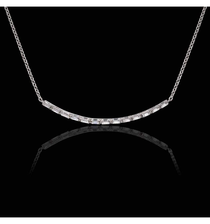 Collier diamant Ligne