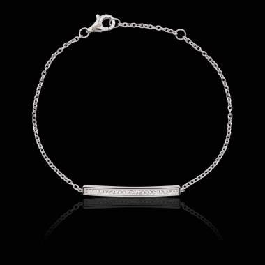 Bracelet émeraude Pavé