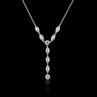 Pendentif diamant Pompadour