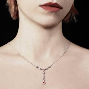 Pendentif rubis Pompadour