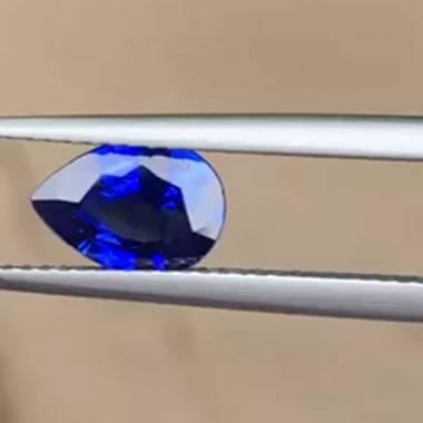 Saphir bleu 1.46cts...