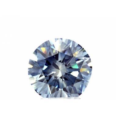 Diamant synthèse bleu 0.53cts