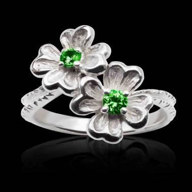 Mya Emerald Ring