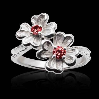 Mya Ruby Ring