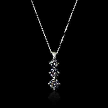 Trilogy Black Diamond Pendant