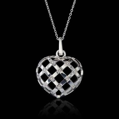 Interlaced Heart Diamond...