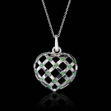 Intertwined Emerald Heart...