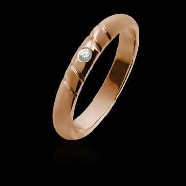 Alex Men's Rose Gold...
