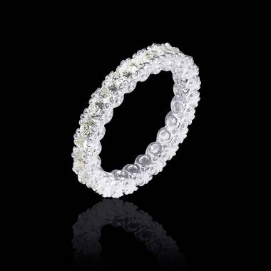 Diamond Wedding Band Platinum Jupiter