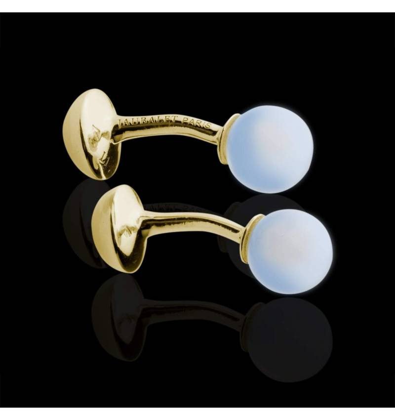 cufflinks yellow gold Jumo