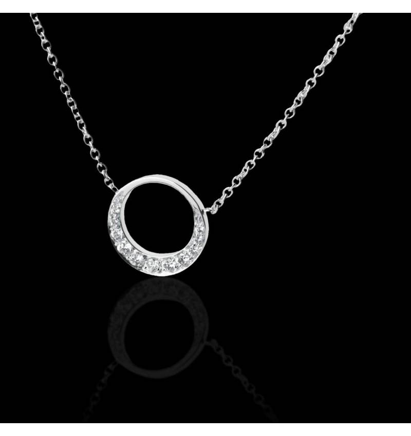 Diamond Pendant Gold Clair de Lune