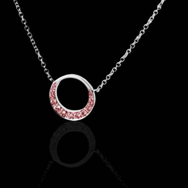 Ruby Pendant Gold Clair de Lune
