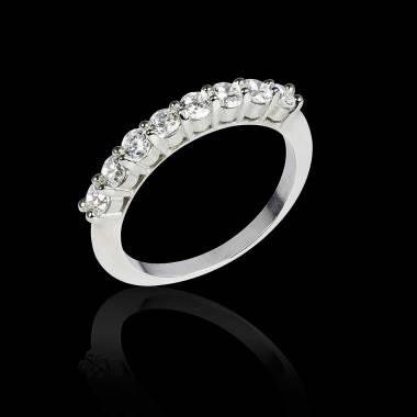 Diamond Wedding Band White Gold Mercure