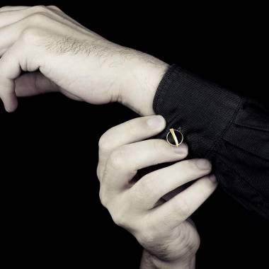 cufflinks white gold Jaubalet