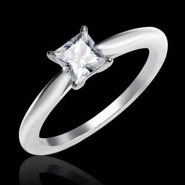Diamond engagement ring white gold My Love