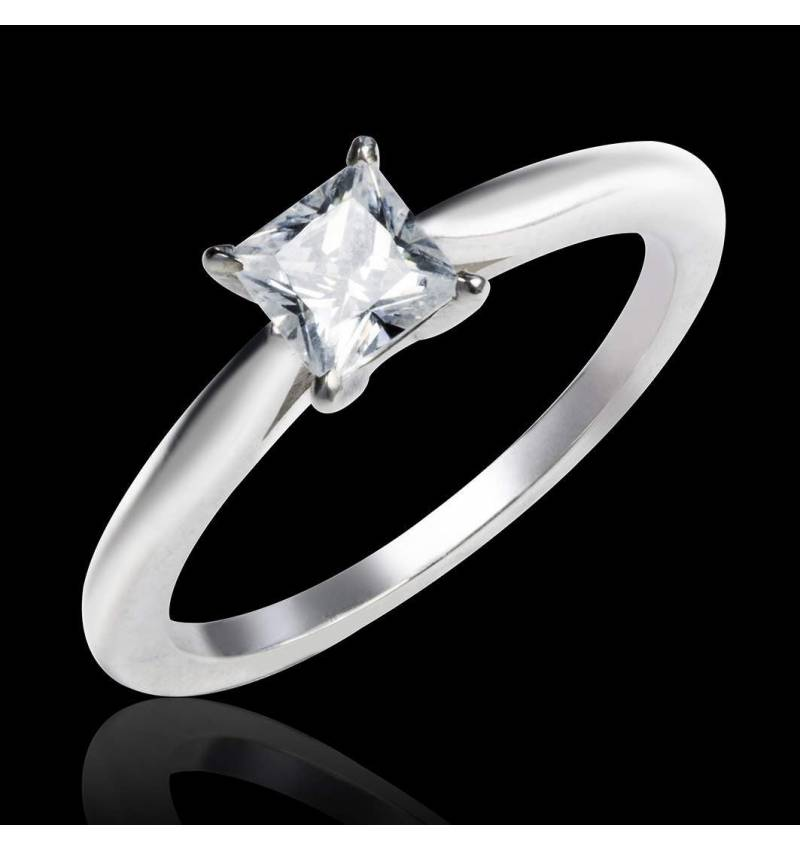 Diamond engagement ring white gold My Love