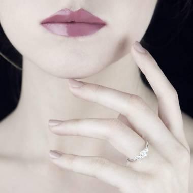 Diamond Engagement Ring White Gold Nayla