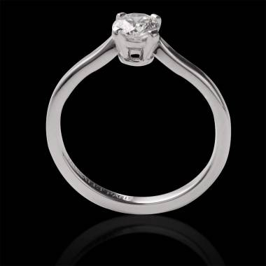 Diamond Engagement Ring White Gold Vanessa Solo
