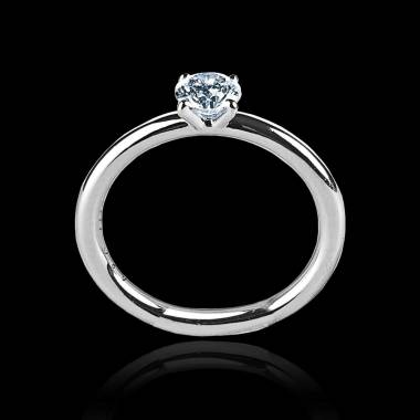 Diamond Engagement Ring White Gold Anja