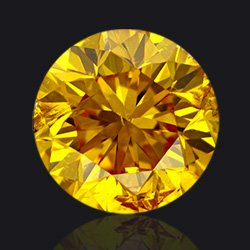 Fancy-Vivid-orangy-yellow diamond- Jaubalet