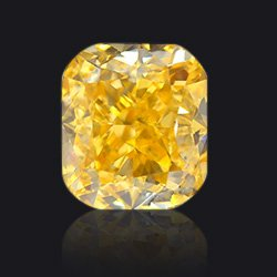 Diamond Fancy-intense-yellow-orange - Jaubalet