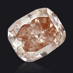 Fancy orange pink Diamond - Jaubalet