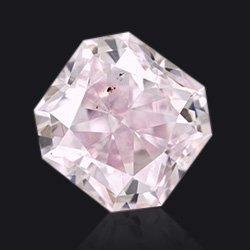 Diamond Fancy purplish pink radiant - Jaubalet