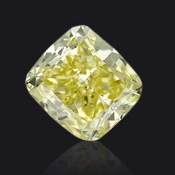 Diamond fancy yellow - Jaubalet