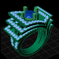 3D Custom-Made Ring - Jaubalet