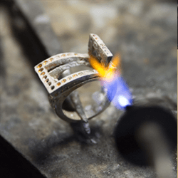 Making the custom-made ring 2 - Jaubalet