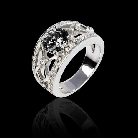 Why Choose a Black Diamond Engagement Ring?
